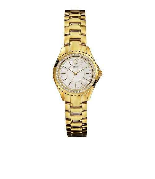 Informações do Relógio Marca  Guess Estilo  Fashion Mecanismo  Analógico  Modelo  92179L1GSDA1 Gênero  Feminino Características Material da Caixa  Aço  ... 827d0c7c0b