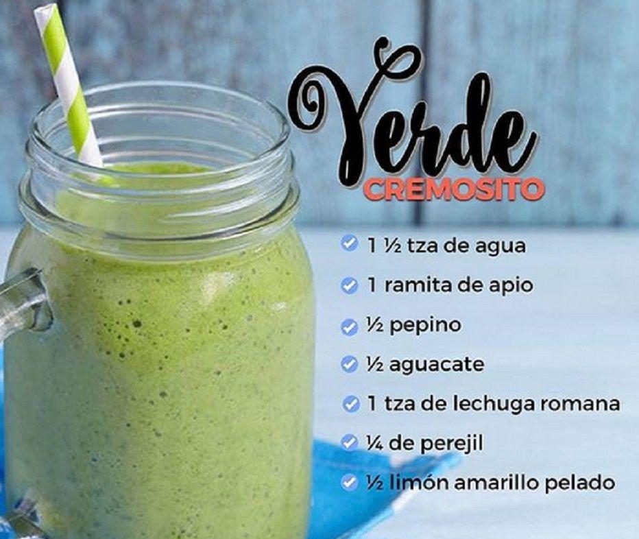 jugos verdes para adelgazar recetas mexicanas