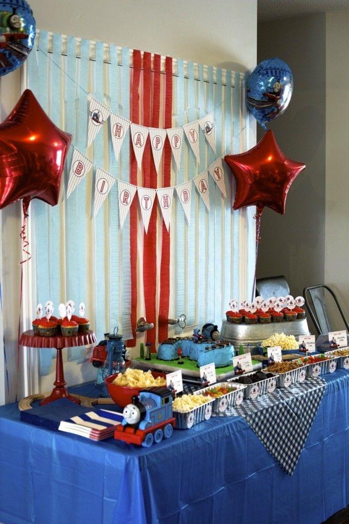 Thomas the Train Birthday Party Birthdays Thomas birthday and