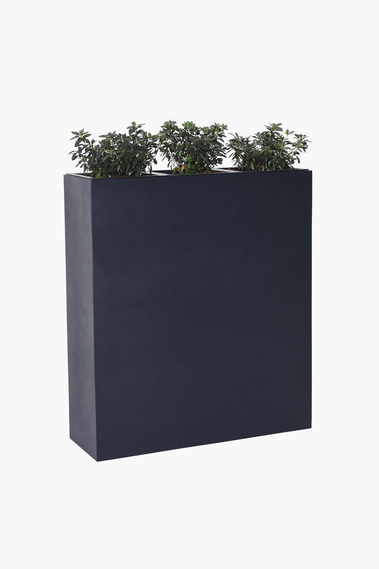 Elemento | Terrasse | Pflanzkübel, Fiberglas und Pflanzen