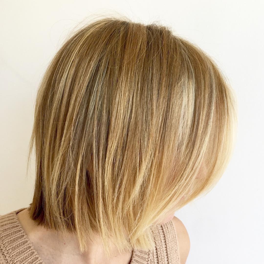 """""""Chic... #shag #bob #fashion #blonde #swag #balayage #chic #choppy #texture #haircut #hilites #hairporn #style #instahair #redken #loreal #wella #olaplex…"""""""
