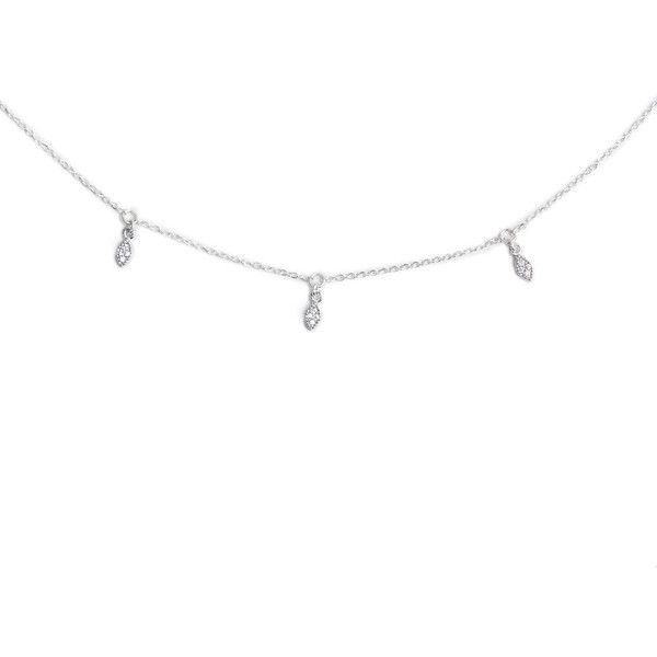 MARQUISE CHOKER SILVER LOUISE JEAN ❤ liked on Polyvore featuring jewelry, necklaces, charm necklace, silver charms, choker jewelry, charm jewelry and silver choker necklace