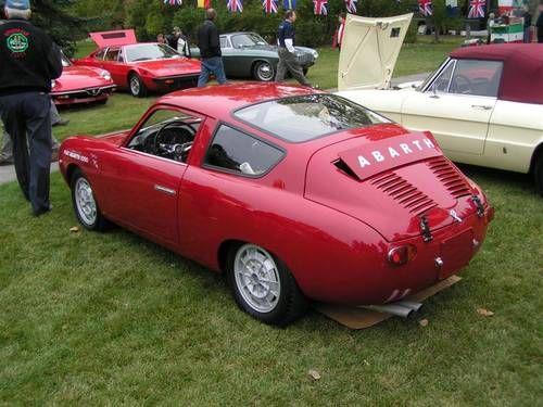 zagato cars for sale | 1959 Abarth Zagato Double BuBBle = Mint + Correct = driver For Sale