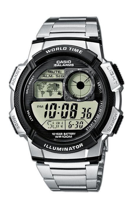 6e6381c21dec Reloj casio digital crono hombre ae-1000wd-1avef