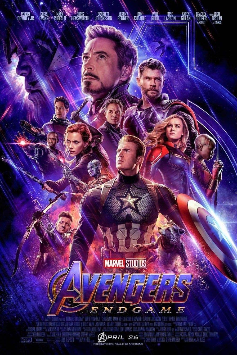 Avengers End Game Poster 2019 Newposter Marvel Avengers Ageofultron Thanos Tonystark Rdj Avengersinfinitywar Marvel Studios Avengers New Avengers