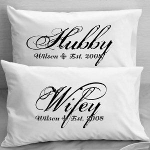 Valentine S Day Gift Ideas For Your Wife Kathln Personalized Pillowcases Wifey Hubby