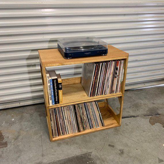 Double Trouble The Two And Three Row Vinyl Storage Shelf Etsy In 2020 Vinyl Record Storage Record Storage Vinyl Record Storage Shelf