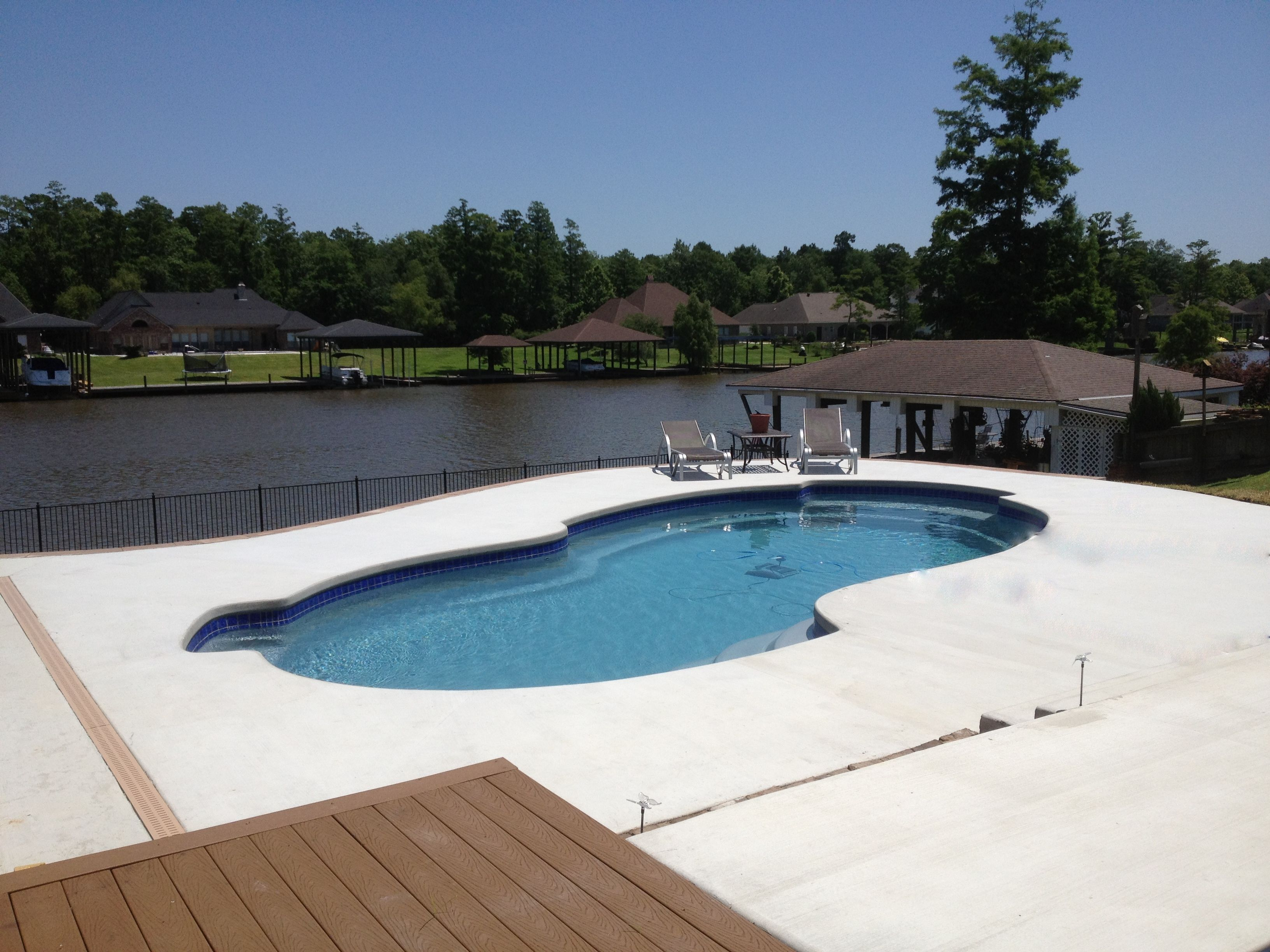 Central Pools Baton Rouge Fiberglass Pools Pool Swimming Pools Fiberglass Pools