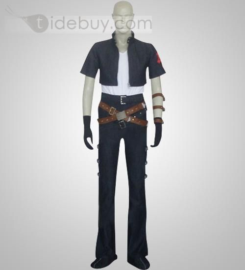 Kingdom Hearts Squall Leonhart Cosplay Cheap Halloween Costumes