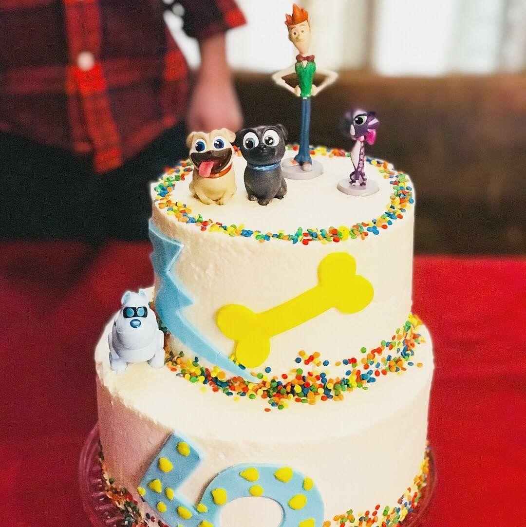 Puppy dog pals birthday cake boy birthday parties boy