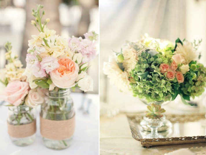 3 centerpiece ideas for your spring wedding romantic wedding 3 centerpiece ideas for your spring wedding romantic wedding flowers wedding reception centerpieces and centerpieces junglespirit Image collections