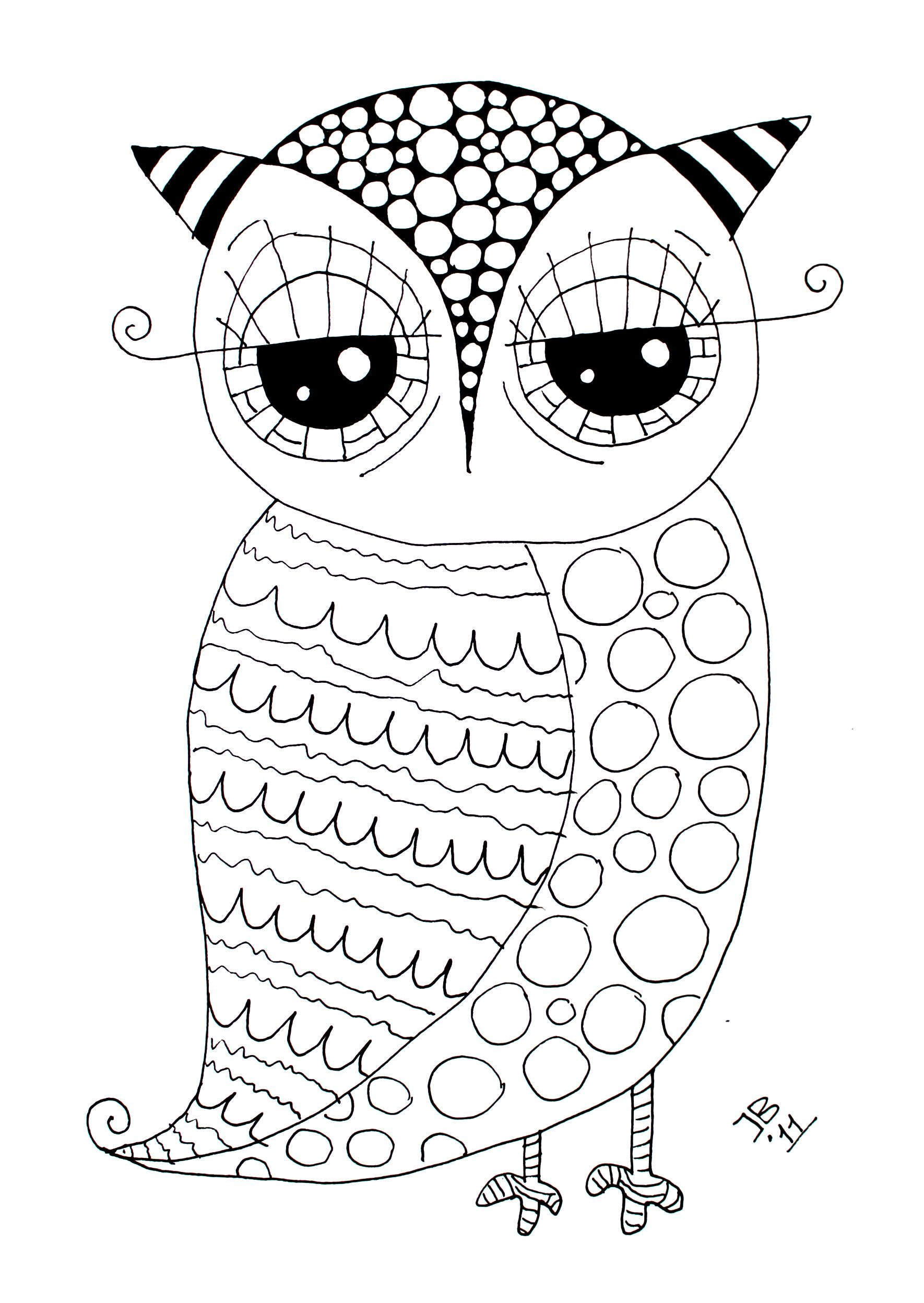 Pin By Tracie Kline Dever On Easy Crafts Owl Coloring Pages Coloring Pages Coloring Books