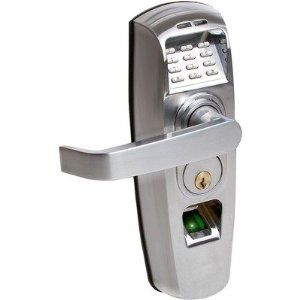 Relitouch Biometric And Pin Handle Lock By Actuator Systems 499 95 Rt 201 Features Biometric And Pin Keyless Entry Locks Biometric Door Lock Keyless Locks
