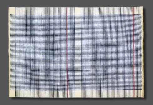 NODUS: Cahier Rug.  Reminds me of graph paper.