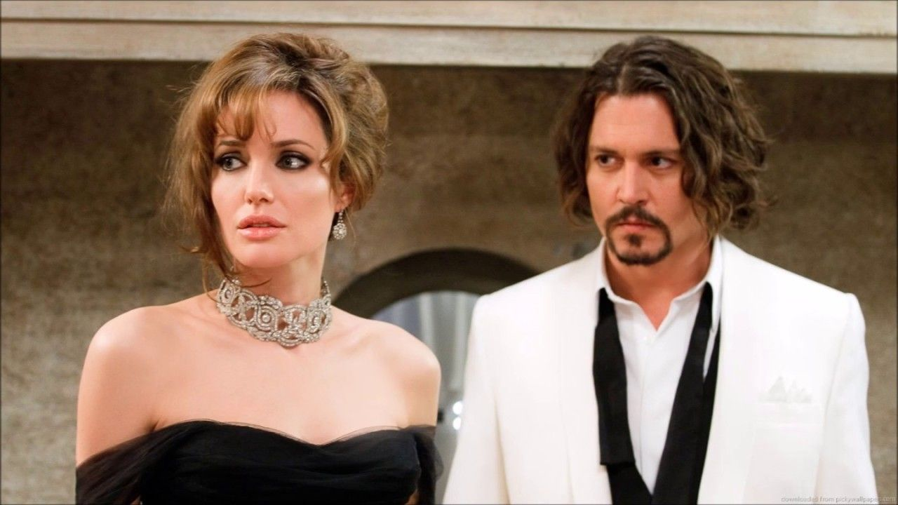 Angelina Jolie And Johnny Depp Dating In Night With Images