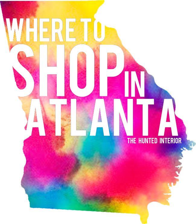 Where To Shop In Atlanta