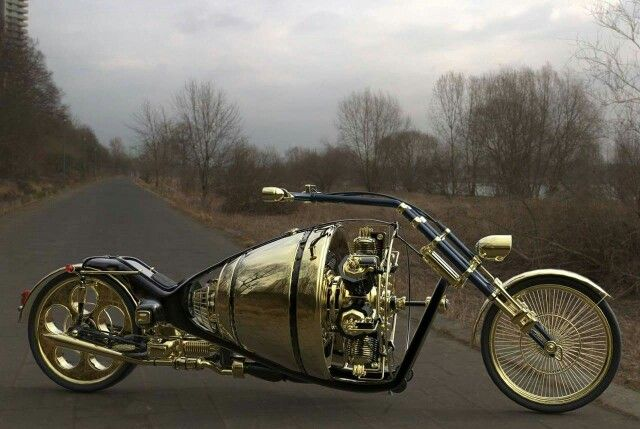 Radial engined chopper