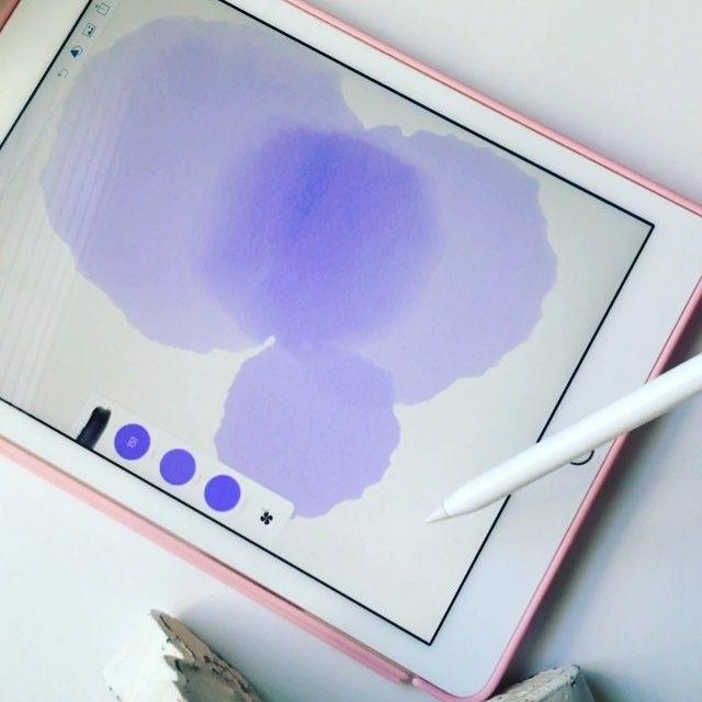 Instagram Video By Theblushingscript Lindsey May 26 2016 At 11 37pm Utc Ipad Wallpaper Watercolor Ipad Pro Apple Pencil Ipad Mini Wallpaper