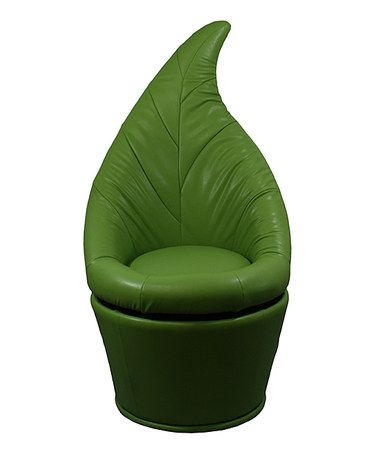 This Green Leaf Swivel Chair is perfect! #zulilyfinds. $54.99. This would be so fun in a tree house!