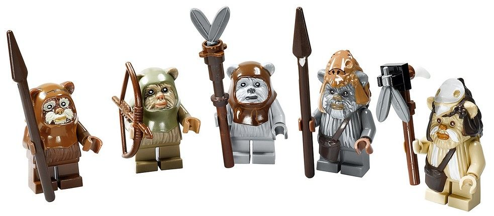 Lego Star Clone Wars LOGRAY Minifigure Logray Chief Minifig Ewok Endor 7956 NEW