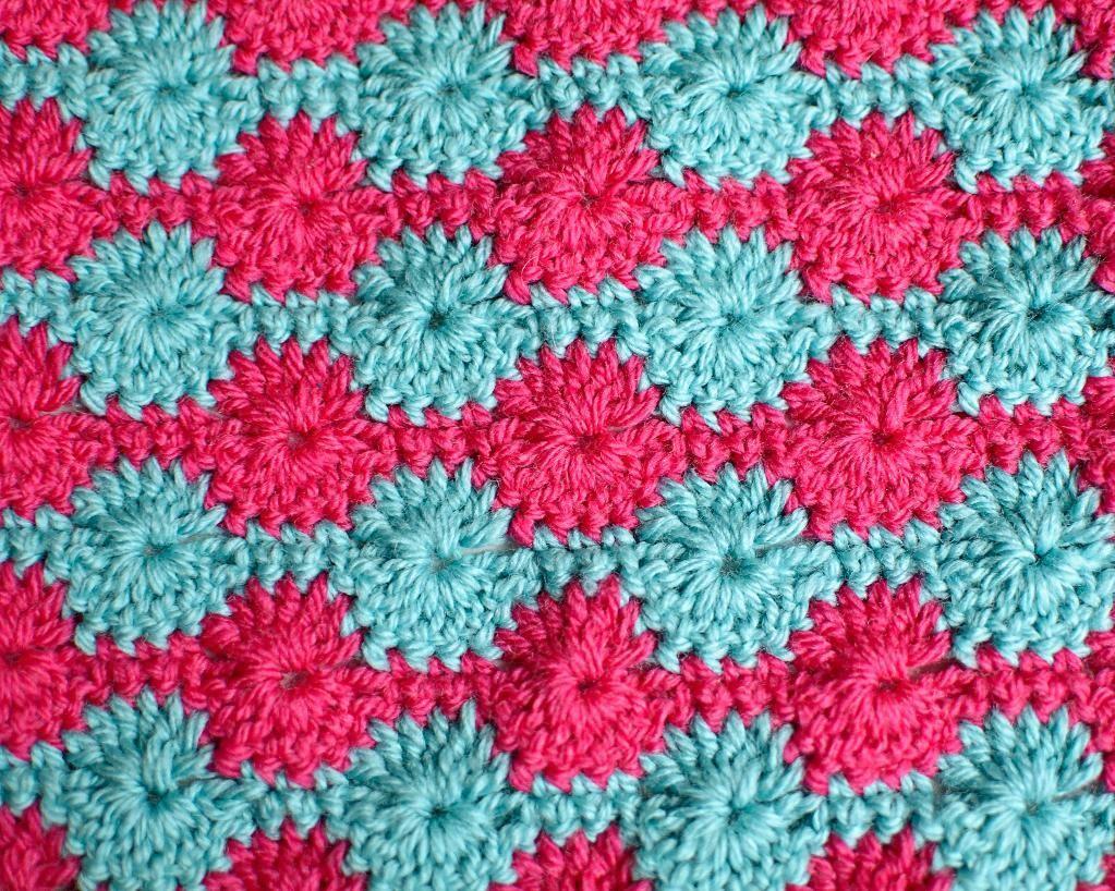 Knitting Wheel Patterns Free : Crocheting crochet stitch sampler blanket knit sew