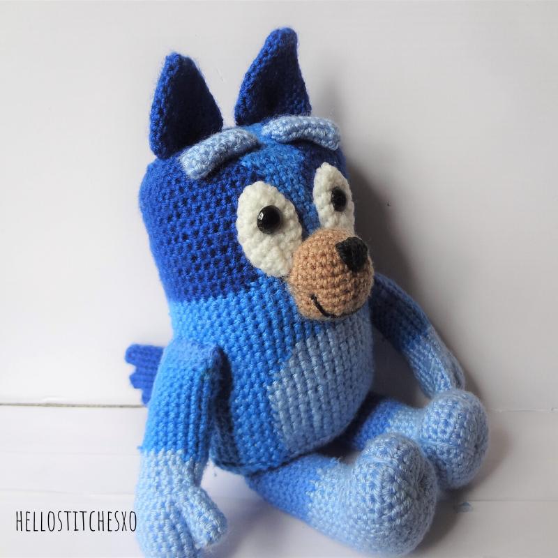 Bluey amigurumi - make your own   How to start knitting ...