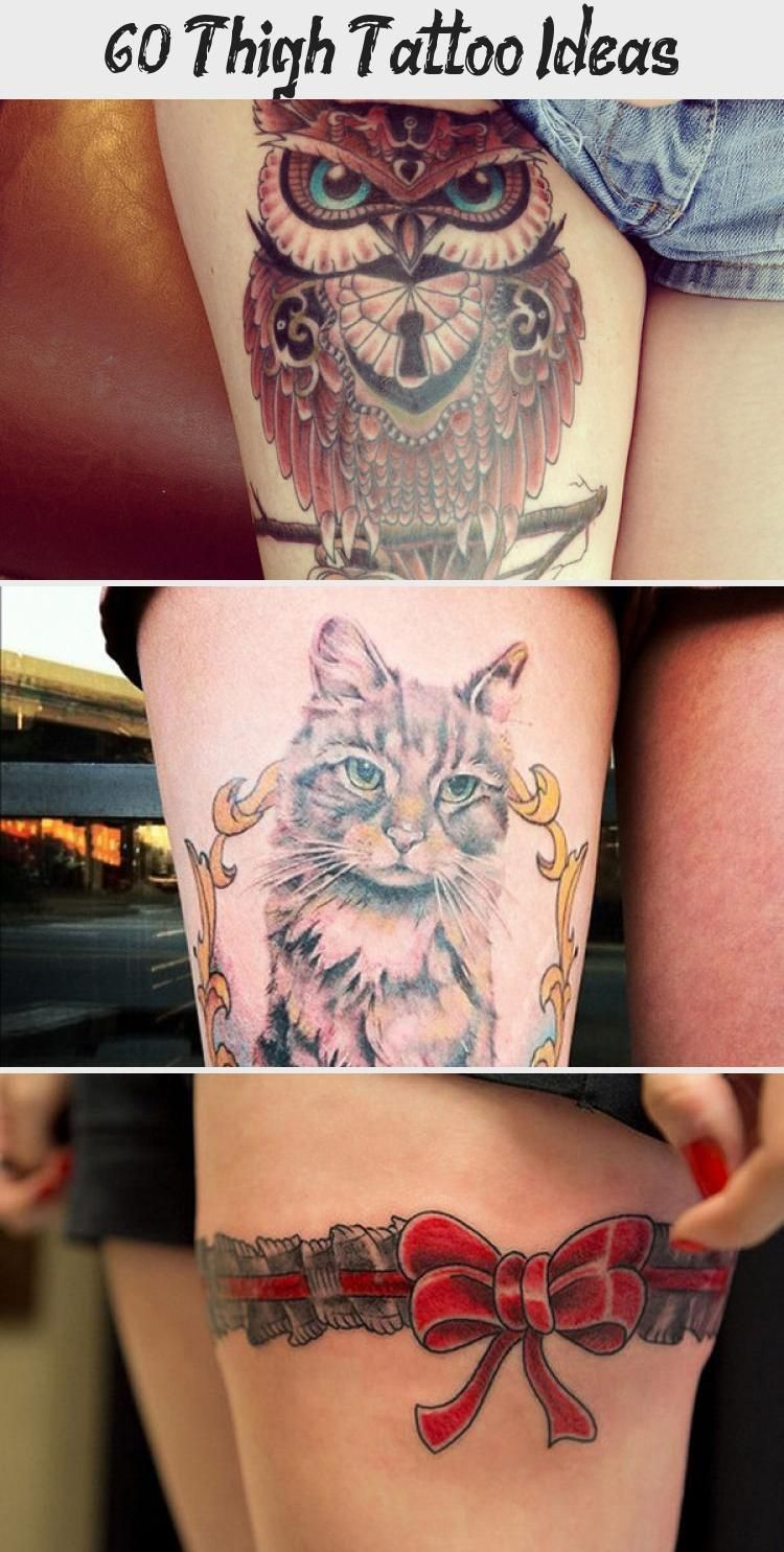 Photo of 55 Thigh Tattoo Ideas #ornamentaltattooForearm #ornamentaltattooRund #ornamental…
