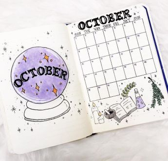 41 Bullet Journal Monthly Cover Ideas You Must Try - Its Claudia G #bulletjournaling