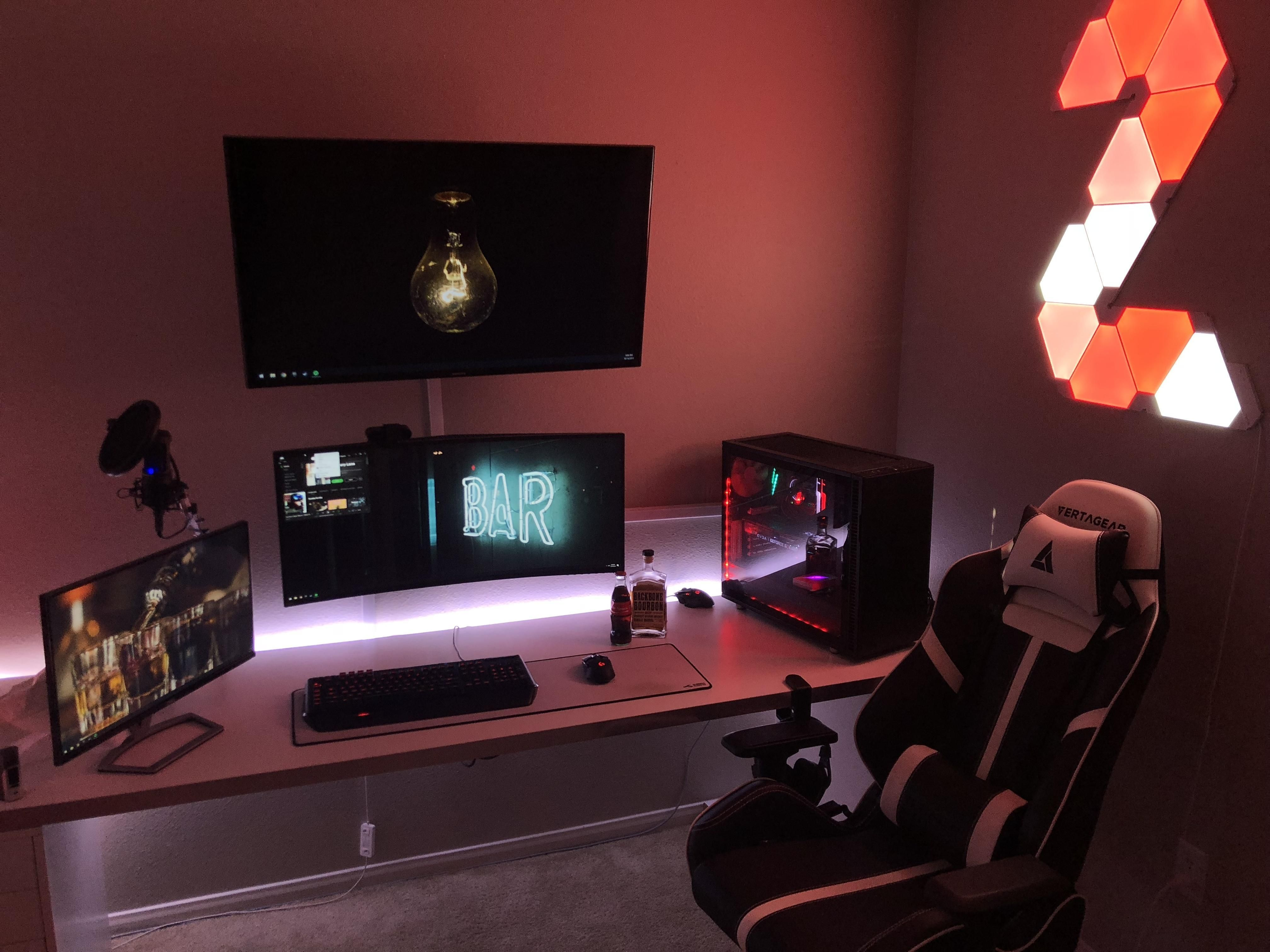 75 Great Ideas To Decorate Your Video Games Room Ideen Furs