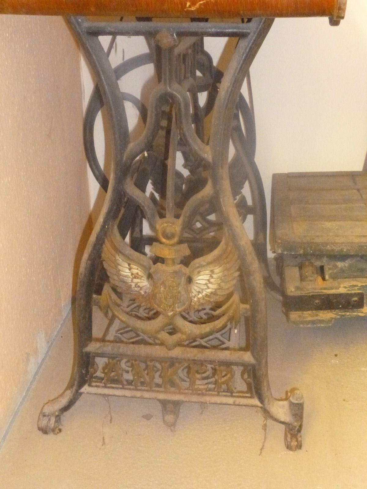 details zu antike seltene jugendstil kinder n hmaschine um 1900 vintage or antique sewing. Black Bedroom Furniture Sets. Home Design Ideas