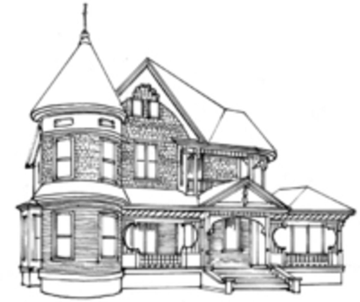 The Queen Anne Victorian Architecture And Decor Victorian Architecture Queen Anne House Victorian House Plans