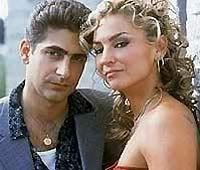 Christopher And Adrianna Of The Sopranos Sopranos Tony Soprano