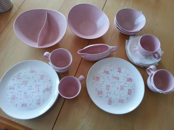 Found these on Craigslist! Vintage Vernonware dishes in Tickled Pink! : craigslist dinnerware - pezcame.com