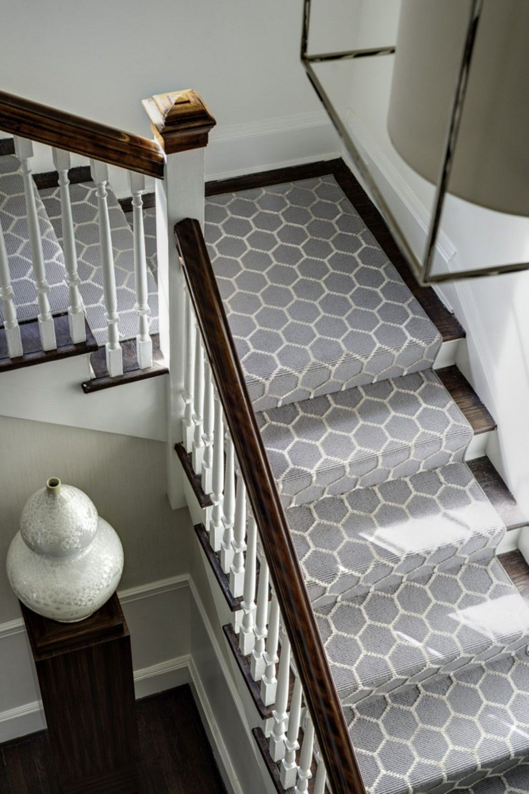 Best Elegant Painted Stair Runner For Amazing Home Interior 400 x 300