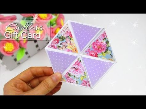 Diy Hexaflexagon Endless Card Easy Tutorial Youtube With Images