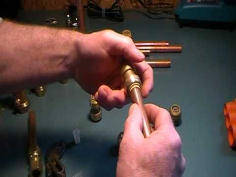 how to join copper pipes without solder