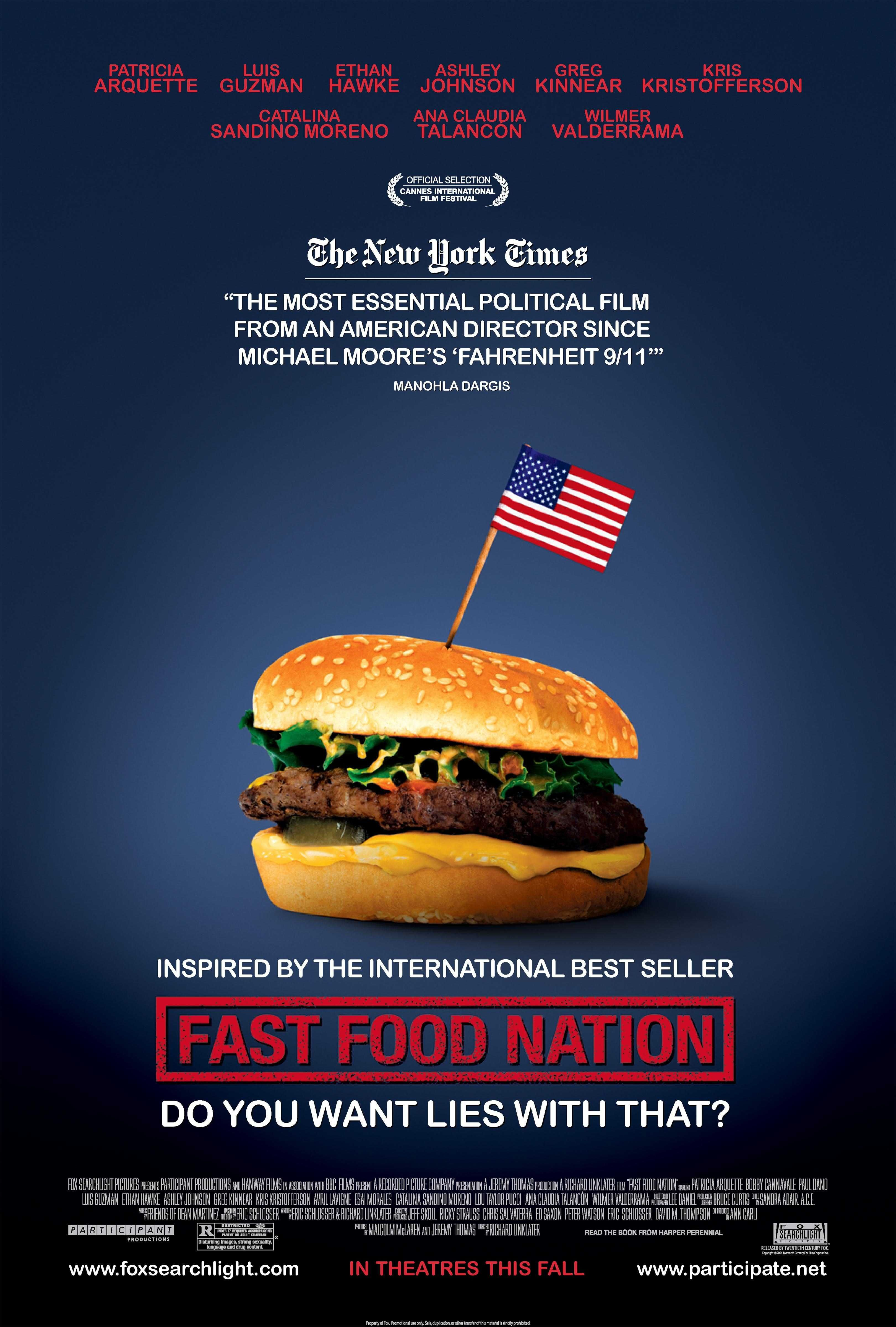 Fast Food Nation Movie Poster