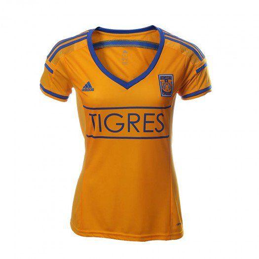Demuestra que eres parte de la afición más reconocida del país con el nuevo jersey Adidas local de Tigres para mujer.