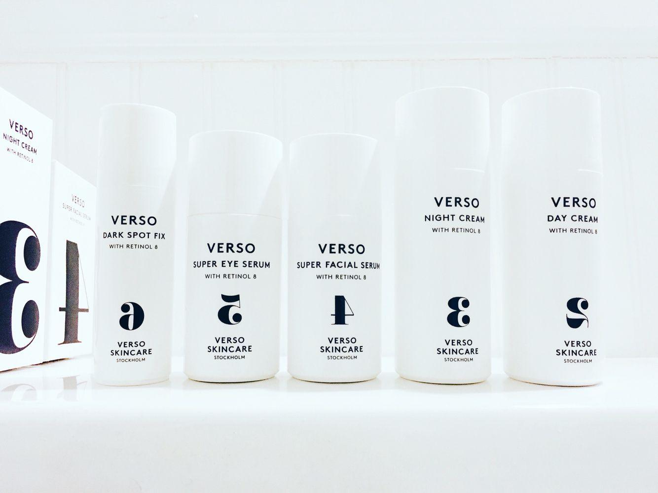Verso Skincare Verso Skincare Skin Care Perfumery