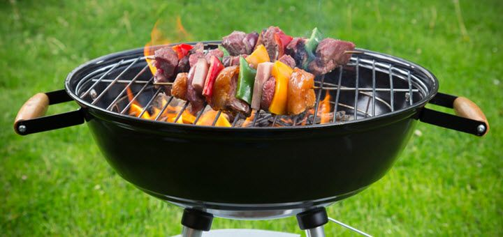 how to put out my charcoal grill