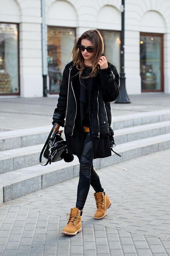 timberland femme mode