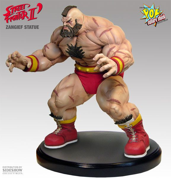 Zangief Street Fighter Premium Format Statue 1 4th