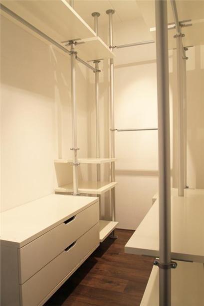 ikea stolmen closet pinterest rangement mezzanine et chambres. Black Bedroom Furniture Sets. Home Design Ideas