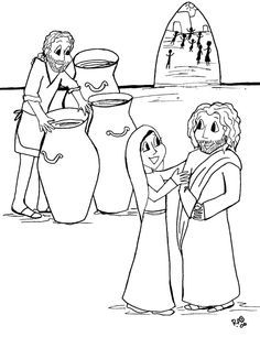 Jesus Turns Water Into Wine At A Wedding In Cana John 2