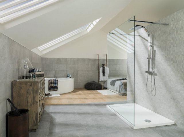 Salle de bains porcelanosa dans chambre | Suites parentales ...