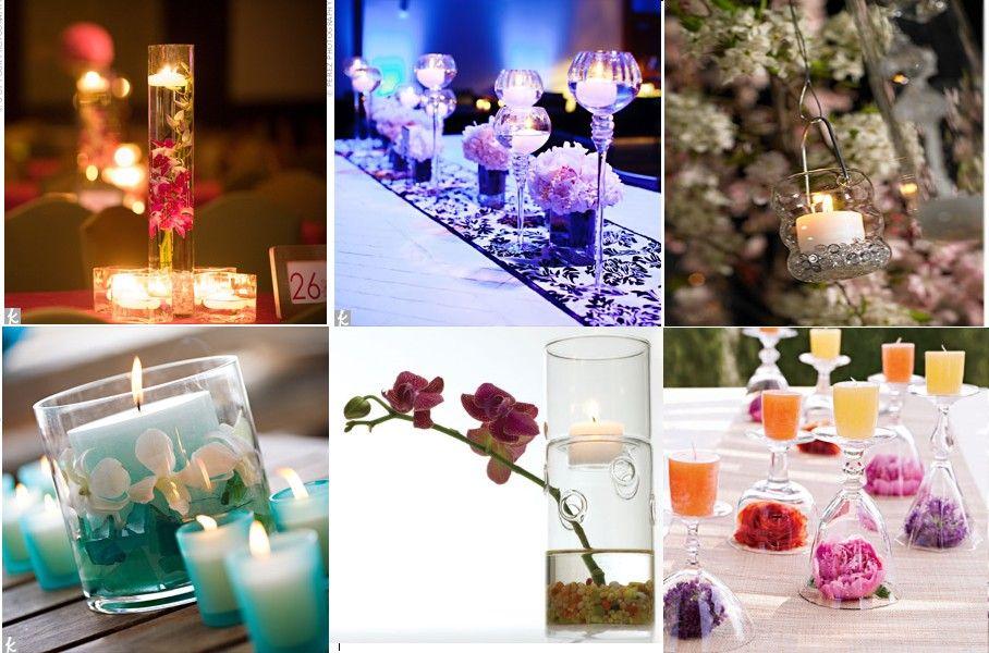 bougies centre table - Centre De Table Bougie