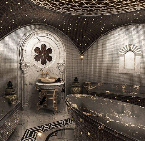 luxury bathroom | turkish bath, turkish design, turkish