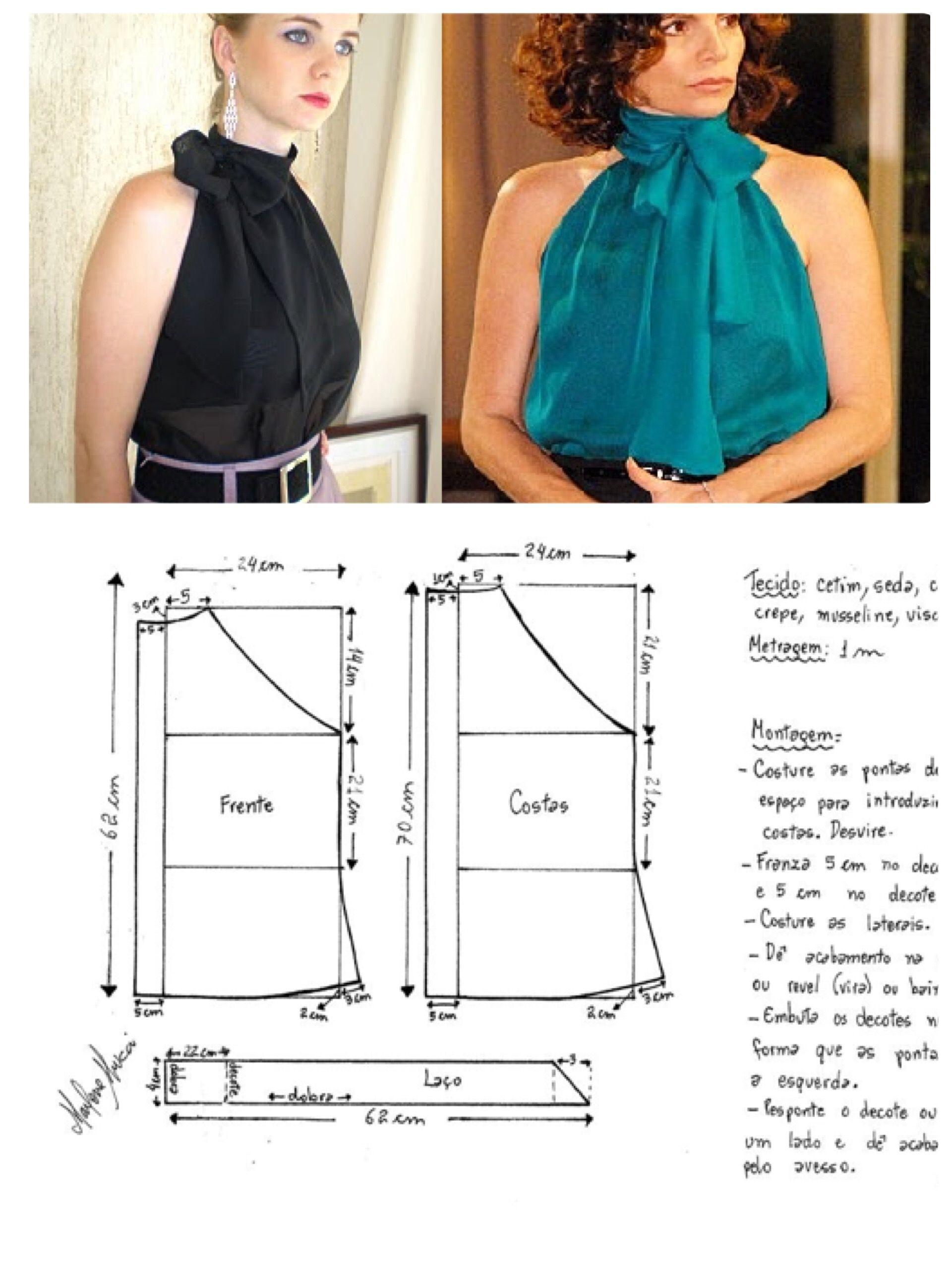 costura | Moldes de ropa | Pinterest | Costura, Patrones de costura ...