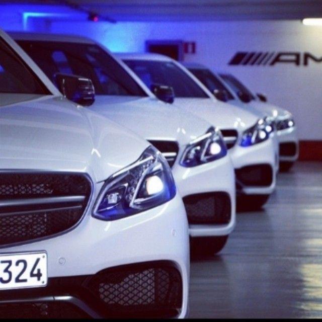 Mercedes Benz AMG E63 lineup