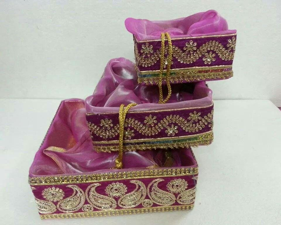 Wedding Tray Decoration Cool Pinkrutika Doshi On Trousseau Packing  Pinterest  Trays Design Inspiration
